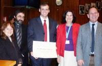 Optics Prize Awarded