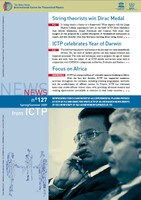 News from ICTP 127 cover